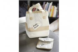Pack complet des TISSUS + MOLLETON pour le lunch bag