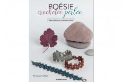 """Livret """"Poésie crochetée perlée"""" Bijoux délicats et ornements raffinés"""