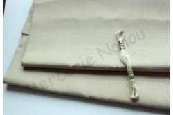 Toile de lin Newcastle de Zweigart, coloris 323 beige kaki clair