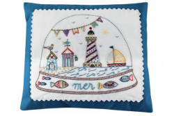 "Kit de broderie traditionnelle ""Boule Mer"""