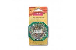 200 Épingles tête verre 35mm de Bohin