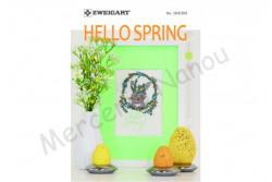 """Livret Zweigart N° 309 """"Paques et printemps"""""""