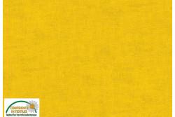 Tissu Patch Stof mélange ton sur ton jaune soleil