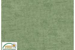 Tissu Patch Stof mélange ton sur ton vert de gris