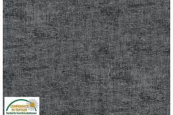 Tissu Patch Stof mélange ton sur ton gris foncé