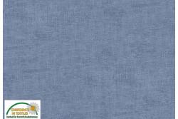 Tissu Patch Stof mélange ton sur ton bleu gris
