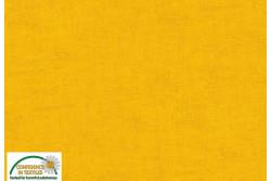 Tissu Patch Stof mélange ton sur ton jaune d'or