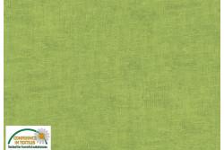 Tissu Patch Stof mélange ton sur ton vert prairie