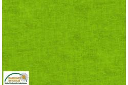 Tissu Patch Stof mélange ton sur ton vert