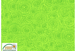 "Tissu Patch Stof Quilters Coordinates "" Feux d'artifice fond vert pomme"""