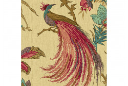 "Tissu Patch  ""Rochester"" Jacobean Birds"