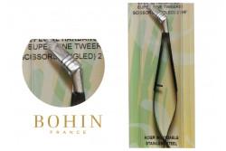 Ciseaux pincette hardanger ultra fin noir 11cm de Bohin