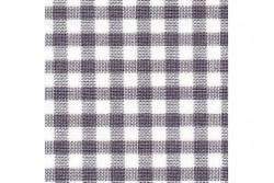 Etamine unifil Murano carré grise et blanche