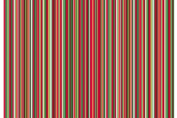 "Tissu Makower ""Multi Pinstripe red"""