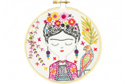 "Kit de broderie traditionnelle ""Jolie Frida"""