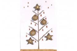 """Boutons  """"Boules et Etoiles de Noël"""""""