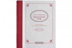 """Livre de broderie traditionnelle """" Mon cahier de Broderie"""""""