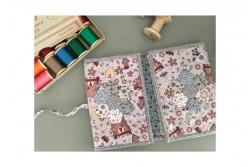 "Kit patchwork ""Pochette précieuse rose"""