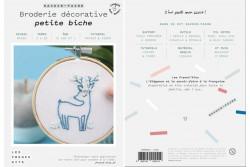 """Kit de broderie décorative French Kits """" Petite Biche"""""""