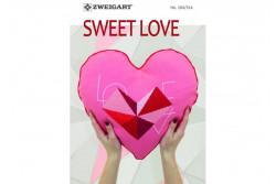 "Livret Zweigart N° 314 ""Sweet Love"""