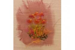 """Kit de broderie """" Echinacea"""""""