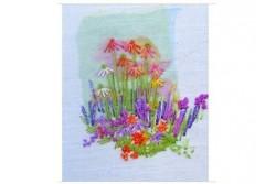 """Kit de broderie """" Echinacea Paradisio"""""""