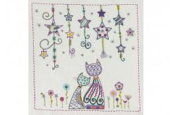 """Kit de broderie traditionnelle """"À la belle étoile"""""""