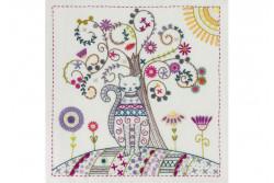 """Kit de broderie traditionnelle """"Mon arbre de vie"""""""