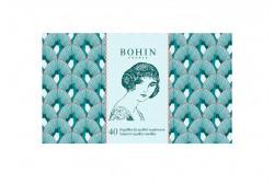 Carnet de 40 Aiguilles - 185 ans - bleu solange de BOHIN