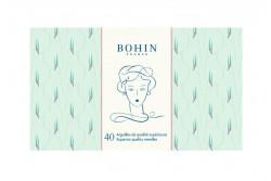 Carnet de 40 Aiguilles - 185 ans - vert edwige de BOHIN