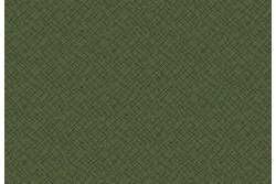 """Tissu patch à petits motifs """"losanges ondulés sur fond vert"""""""