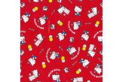Tissu Hello Kitty okashi rose