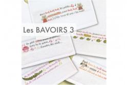 """Diagramme au point de croix Lilipoints """" Les bavoirs 3"""""""