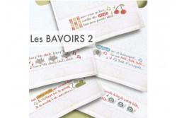 """Diagramme au point de croix Lilipoints """" Les bavoirs 2"""""""