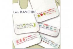 """Diagramme au point de croix Lilipoints """" Les bavoirs 1"""""""