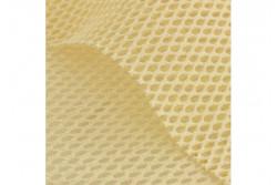 Tissu filet coton bio couleur naturel