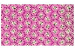 """Tissu Makower """"Reef urchin Pink"""""""