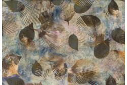 "tissu Bali Handpaints ""ramures"""