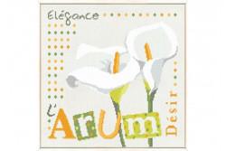 """Diagramme au point de croix Lilipoints """" L'ARUM"""""""