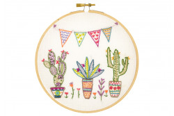 """Kit de broderie traditionnelle """"Mexicoooo"""""""