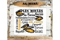 """Diagramme point de croix """" Les Moules """""""
