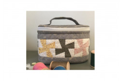 "Kit patchwork ""mini vanity bleu gris"""
