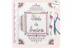 "Kit de broderie traditionnelle ""Points de broderie-Complet- n°2"""