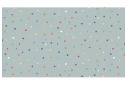 """Tissu Makower """"Daydream Multi Star"""" Gris"""