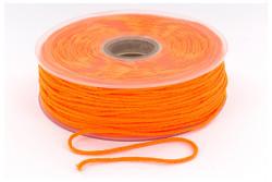 Cordon élastique rond super doux 2,5mm orange