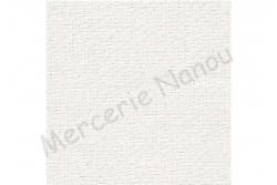 Toile de lin EDIMBURGH de Zweigart, coloris 1111 blanc irisé