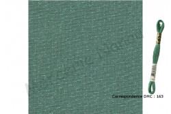 Toile de lin NEWCASTLE de Zweigart, coloris 6135 jade irisé