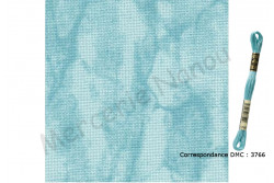 Etamine unifil MURANO de Zweigart, coloris 5439 vintage turquoise