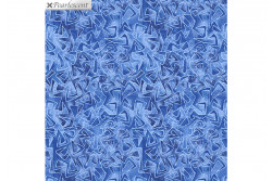 "Tissu patch de Benartex Cat-i-tude ""Med Blue"""