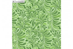 "Tissu patch de Benartex Cat-i-tude ""Green"""